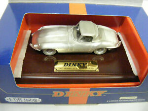 Dinky By Matchbox DY921 E Type Jaguar A Limited Edition Pewter Model