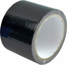 Silage Tape Black Repair Agricultural Bales PVC Strong Sealant Roll 75mm x 33m