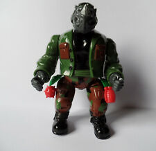 MUTATIN ROCKSTEADY Teenage Mutant Ninja Turtles (TMNT) Playmates 1992