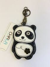 Chala Panda Bear Key Chain Charm FOB Ring Faux Leather Coin Purse New