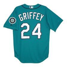 Ken Griffey Jr. Seattle Mariners Alternate Teal Cool Base Jersey Men's Large