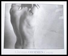 Christian Coigny ohmmes poster immagine stampa d'arte con telaio in alluminio in nero 50x60cm