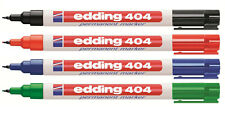 EDDING 404 Permanentmarker (alle Farben frei wählbar)