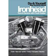 Ironhead Sportster Tune & Service Dvd Video Workshop Manual How-To Harley Xl