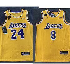 Nwt Men's Kobe Bryant Jersey Los Angeles Lakers Kobe Tribute Kb Patch 2020🔥🔥