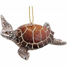 Sea Turtle Swimming Hanging Ornament
