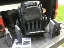 Case Club Tactical 4 Pistol Storage Backpack Rainfly Molle Straps Padded Gen 2