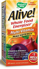 Alive! Max Potency - 60 Tablets - Nature's Way