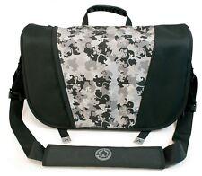 Mobile Edge - Sumo Messenger Bag - Black / Silver (ME-SUMO33MB1)
