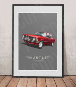 BMW E21 print - Various print sizes on request