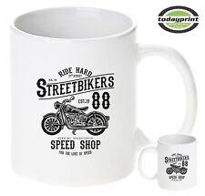 Tasse Streetbikers, Cafe Racer, Biker, Old School, Scrampler, Vintage Motorcycle