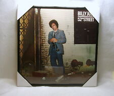 "BILLY JOEL Framed Album Cover / Jacket ""52nd Street"" 12x12 Repurposed Cover"
