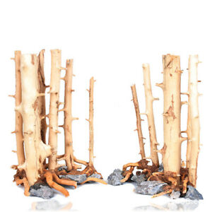 Fish Tank Driftwood Natural Wood Tree Branch Aquarium Landscape Plant Ornament