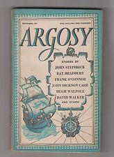 ARGOSY  =  Vol. XII No. 12 DECEMBER 1951  =  RAY BRADBURY JOHN DICKSON CARR ++++