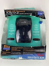 Whistler Laser Radar Detector Z-11R+ Open Box Works Great