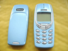 UNLOCKED MINT NOKIA 3310 MOBILE PHONE FULLY REFURBISHED 12 MONTH WARRANTY