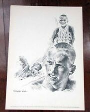 DON SCHOLLANDER 1960's print - George Loh Drawing Equitable Life Collection