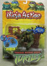 TMNT 2003 Turtles 'Ninja Action' Leonardo Figure - Playmates - New & Sealed MOSC