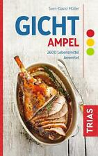 Gicht-Ampel | 2600 Lebensmittel bewertet | Sven-David Müller | Taschenbuch