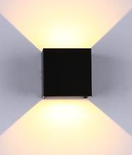 MCE Cube LED Wandleuchte Wandlampe Up Down für außen und innen wasserdicht IP65
