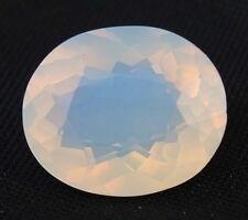 TOP : Echter Weißer Feuer Opal 12,69 Ct VVS Reinheit mit Orange Flash aus Mexiko