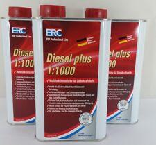 ERC Diesel Plus 12,60€/L 3x1L Dieseladditiv Cetanbooster Zusatz mit Biozid Agil