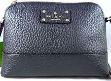 Kate Spade Bay Street Hanna Black Leather crossbody bag