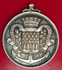 MEDAILLE EN ARGENT - SAUVETEURS DE LA GIRONDE - 1855 - RARE!!!!!