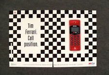 [GCG] L452- Advertising Pubblicità - TIM FERRARI , CALL POSITION