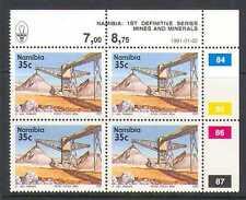 Namibia 1991 minerali / Zinco 35C defin CTL BLK (n20799)