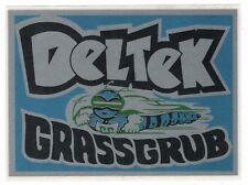 Deltek Grassgrub 1970s Silver Vintage Mini Bike Repro Decal