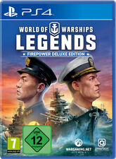 PS4 World of Warships Legends Firepower Deluxe Edition NEU&OVP Playstation 4