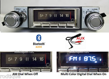 1970-1972 Cutlass Bluetooth Stereo Radio Multi Color Display USA 740