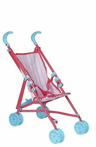 BABY BOO PINK DOLLS PUSHCHAIR STROLLER PRAM BUGGY TOY NEW
