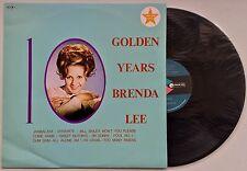 BRENDA LEE 10 Golden Years OZ MCA EX/EX