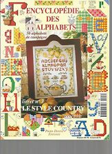 ENCYCLOPEDIE DES ALPHABETS N°3 - LIVRET 3 - LE STYLE COUNTRY