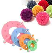New Arrival 8pcs Maker Fluff Ball Needle Weaver Knitting Wool Tool DIY Craft Set