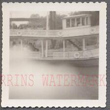 Unusual Vintage Photo Finger Bomb Mistake River Boat 713609