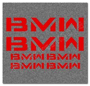 BMW Aufkleber Set 6 teilig BMW Motorrad Motorsport Decal Sticker 38 Farben BA001