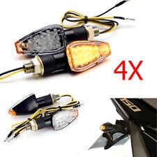 For Kawasaki ZX636 KLX250S KLR650 4X Motorcycle Bike LED Turn Signals Indicators