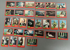 1977 Topps Star Wars 2nd Series Red Trading Card Lot