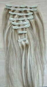 Dressmaker Unlimited- 100% Human Hair Extensions Clip In Real Remy Hair 8pcs
