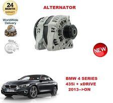 FOR BMW 4 SERIES F32 F33 335 i + xDRIVE 306BHP 2013 >ON ALTERNATOR UNIT