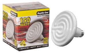 Reptile One Ceramic Heat Lamp 150w E27 Lizard Habitat Thermal environment Heater