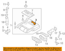 AUDI OEM 06-08 A3 Engine-Air Cleaner Filter Element 06F133843A