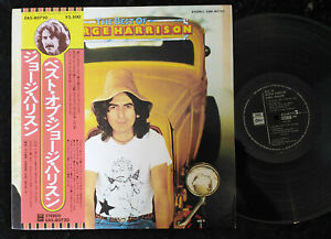 GEORGE HARRISON The Best Of LP Odeon EAS-80720 Japan VINYL OBI