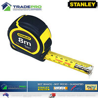 Stanley® Tape Measure PRO 8m Metric Trade Full Size Tylon 8Mtr Made by Fatmax