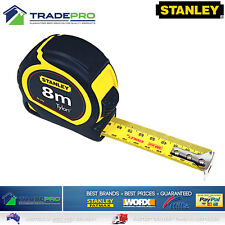 Stanley® Tape Measure PRO 8m Metric Trade Full Size Fatmax Tylon Quality 8Mtr