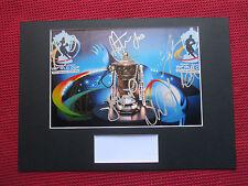 KANGAROOS - AUSTRALIA 2013 WORLD CHAMPIONS 11 SIGNED LOGO PHOTO DISPLAY - COA