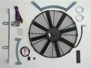 Revotec Electronic Cooling Fan Conversion Kit Jaguar XK 140 (Neg Earth)